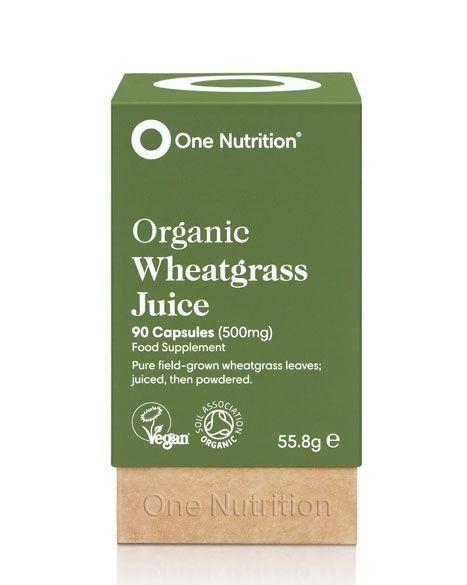 One Nutrition® Organic Wheatgrass Juice - 90 Capsules