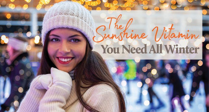 Vitamin D3 - The Sunshine Vitamin
