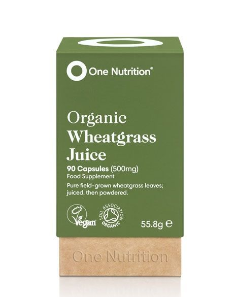 One Nutrition® Organic Wheatgrass Juice - 90 Capsules